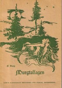 Titelblatt Murgtalsagen