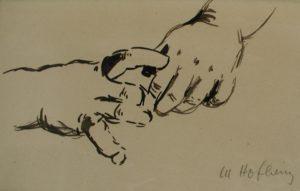 Händchen, 1946, WV-Nr. 649
