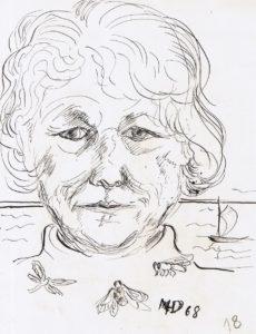Selbstporträt, 1969, WV-Nr. 1273