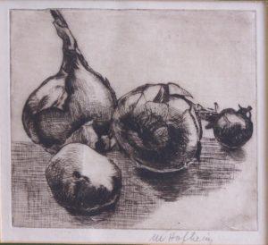 1483 Stilleben mit Zwiebeln