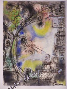 Universum, 1960, Aquarell, WV-Nr. 1582