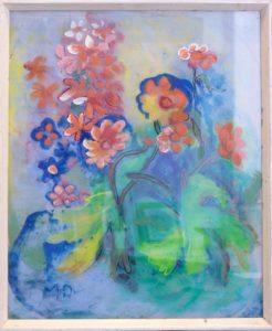Blumen, 1967, Hinter Glas, WV-Nr. 4402