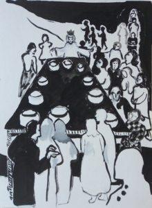 Hochzeit zu Kanaan, 1975, Repro, WV-Nr. 5167