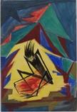 Geizhals, 1926, Tempera, 22 x 33 cm, WV-Nr.5579