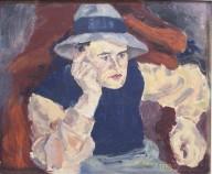 Jansen, 1932, Öl auf Leinwand, 60 x 50 cm, WV-Nr.8