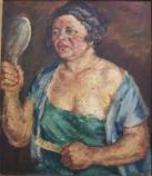 1934. Öl auf Leinwand, WV-Nr. 14