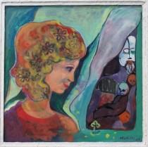 Schatten der Vergangenheit, auf und hinter Glas, 1964, WV-Nr. 2831