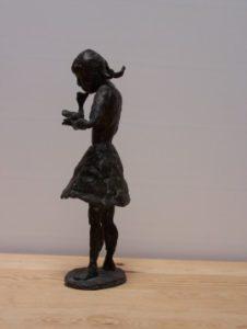 Gänseliesel, Bronzeguss, 1976, Höhe 31 cm, WV-Nr.5412