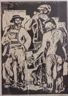 1933, Linol Handabzug, WV-Nr. 1690